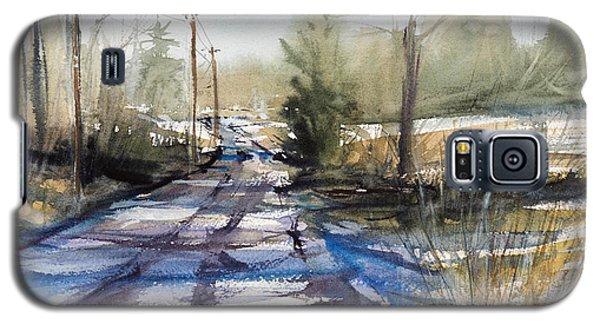 Winter Shadows  Galaxy S5 Case by Judith Levins