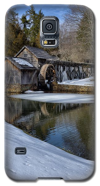 Winter Snow At Mabry Mill Galaxy S5 Case