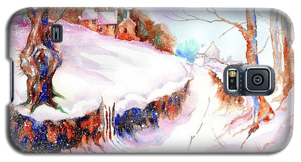 Winter Snow Galaxy S5 Case