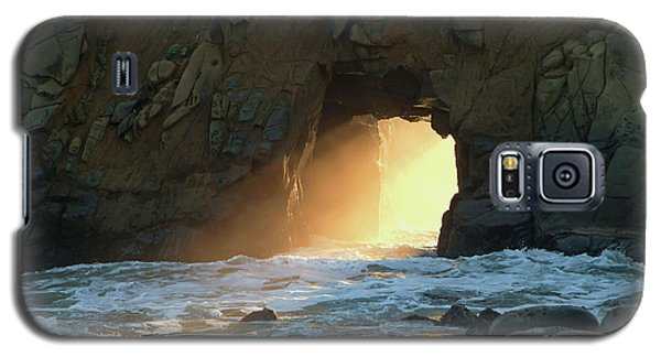 Winter Solstice Sunset In Big Sur Galaxy S5 Case