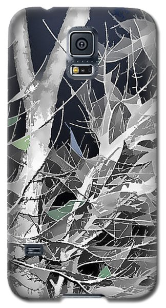 Galaxy S5 Case featuring the digital art Winter Song by Wendy J St Christopher
