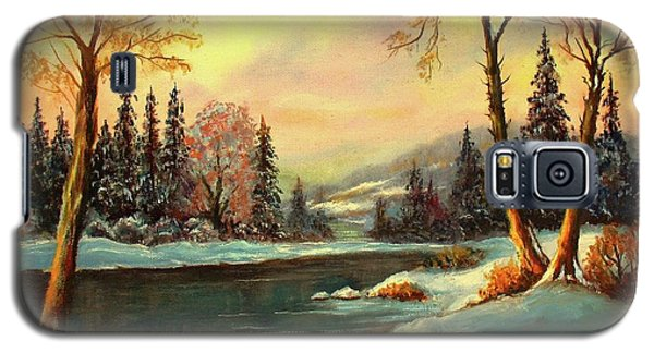 Winter Splendor Galaxy S5 Case