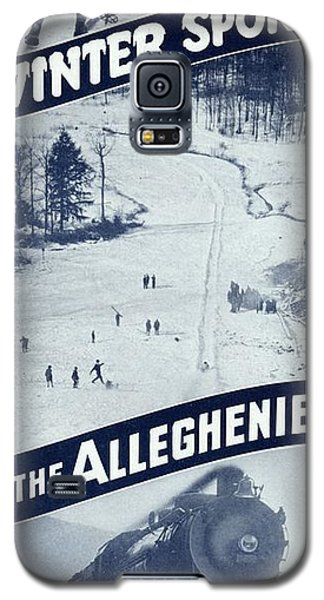 Winter Sports In The Alleghenies Galaxy S5 Case