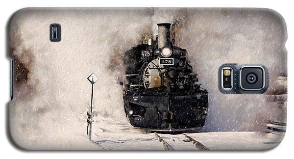 Winter Steam At Rockwood Colorado Galaxy S5 Case