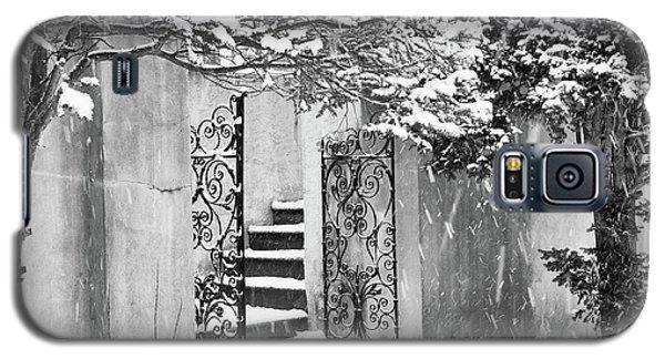 Winter Steps At The Vanderbilt In Centerport, Ny Galaxy S5 Case
