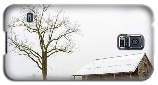 Winter Storm On The Farm Galaxy S5 Case