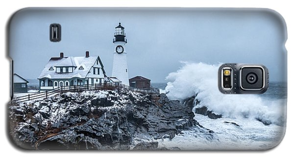 Winter Storm, Portland Headlight Galaxy S5 Case