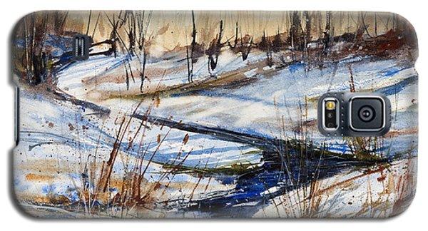 Winter Stream Galaxy S5 Case by Judith Levins
