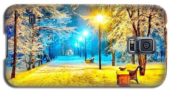 Winter Street Galaxy S5 Case by Catherine Lott