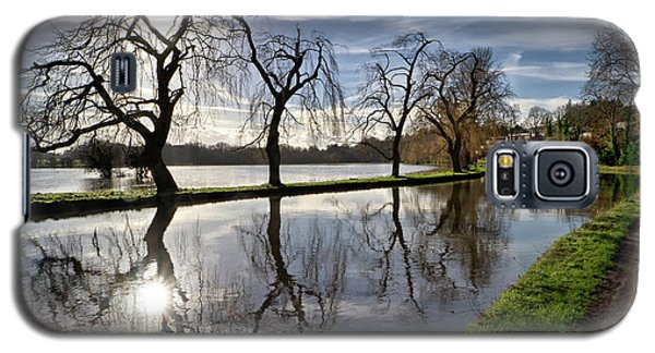 Galaxy S5 Case featuring the photograph Winter Sun by Shirley Mitchell