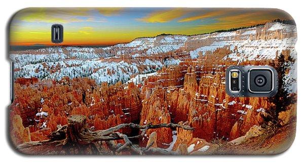 Winter Sunrise At Bryce Galaxy S5 Case