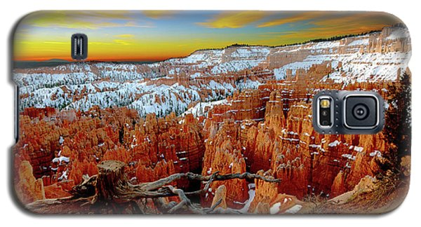 Winter Sunrise At Bryce Galaxy S5 Case