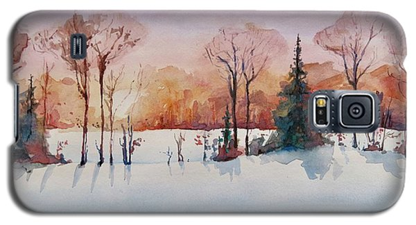 Winter Sunrise Galaxy S5 Case by Geni Gorani