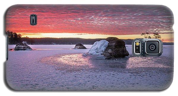Winter Sunrise Over Moose Pond Galaxy S5 Case