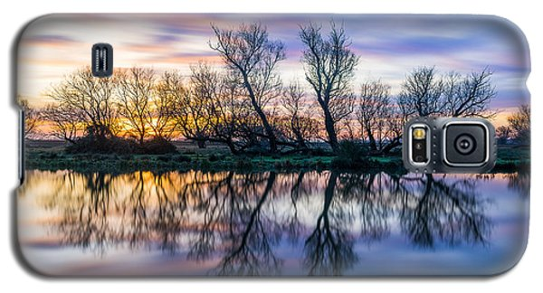 Winter Sunrise Over The Ouse Galaxy S5 Case