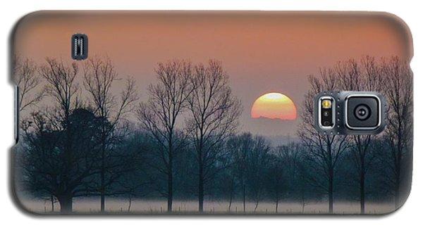 Winter Sunset 1 Galaxy S5 Case
