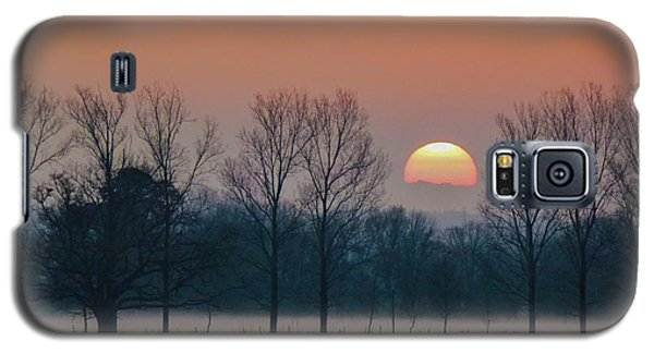 Winter Sunset 1 Galaxy S5 Case