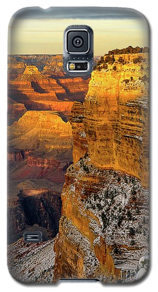 Winter Sunset At The Grand Canyon Galaxy S5 Case