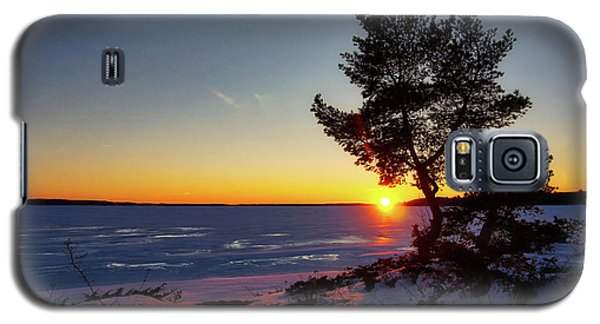Winter Sunset Galaxy S5 Case