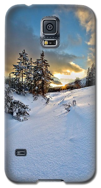 Winter Sunset Galaxy S5 Case by David Andersen