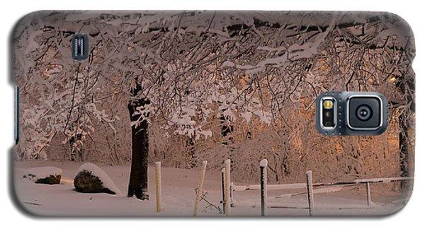 Winter Sunset Ft Hill Park Galaxy S5 Case