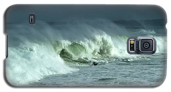 Winter Surf On Monterey Bay Galaxy S5 Case