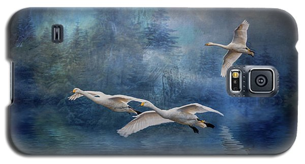Winter Swans Galaxy S5 Case by Brian Tarr
