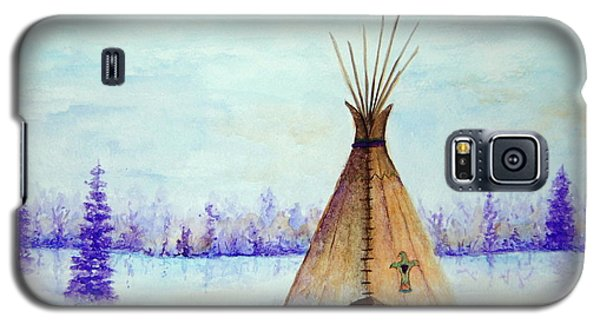Winter Tepee Galaxy S5 Case