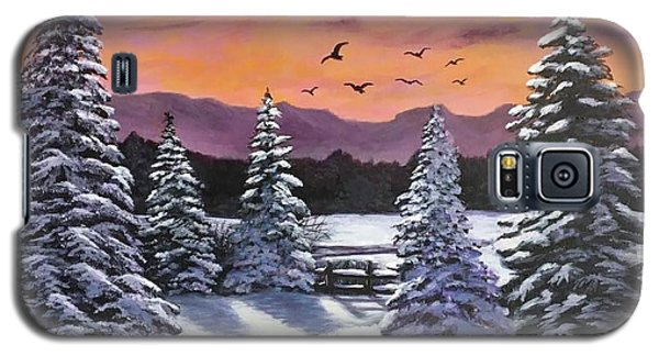 Winter Time Again Galaxy S5 Case
