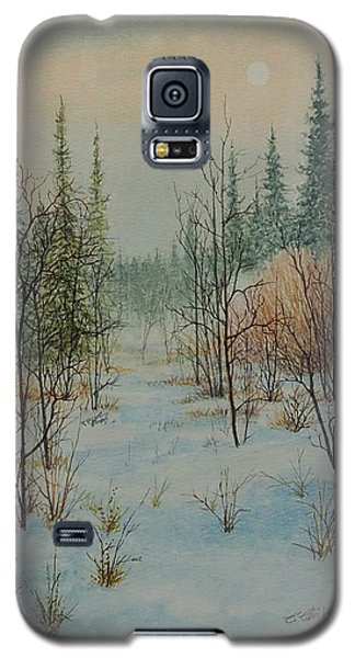 Winter Trail Alberta Galaxy S5 Case