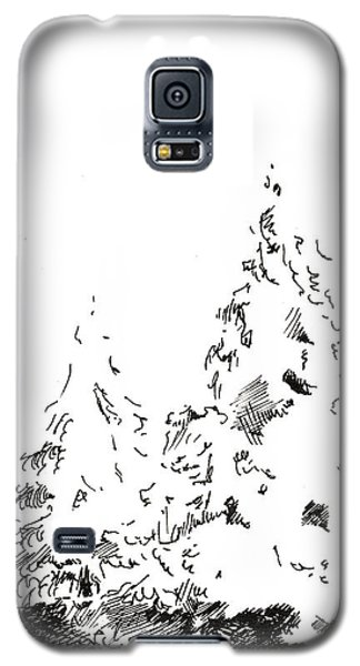 Winter Trees 1 - 2016 Galaxy S5 Case
