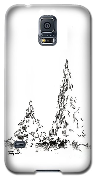 Winter Trees 2 - 2016 Galaxy S5 Case
