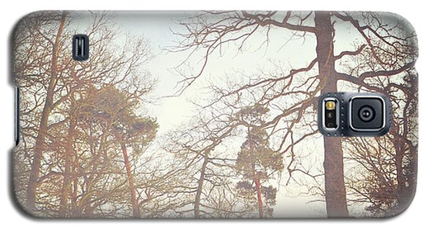 Galaxy S5 Case featuring the photograph Winter Trees by Lyn Randle