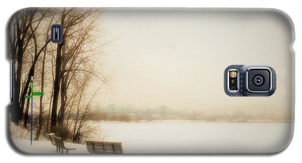 Winter View Over Montreal Galaxy S5 Case