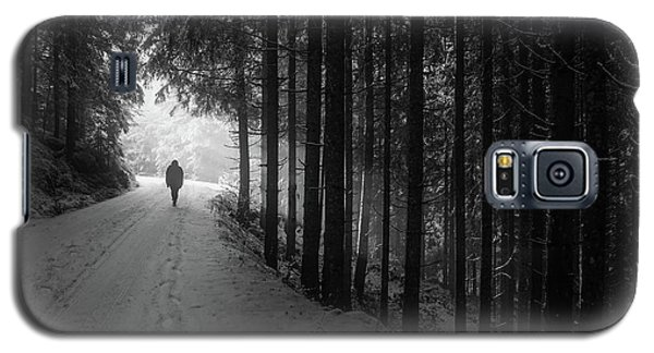 Winter Walk - Austria Galaxy S5 Case by Mountain Dreams