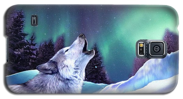 Winter Wolf Galaxy S5 Case