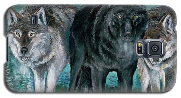 Winter Wolves Galaxy S5 Case