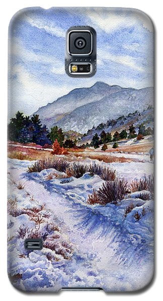 Galaxy S5 Case featuring the painting Winter Wonderland by Anne Gifford
