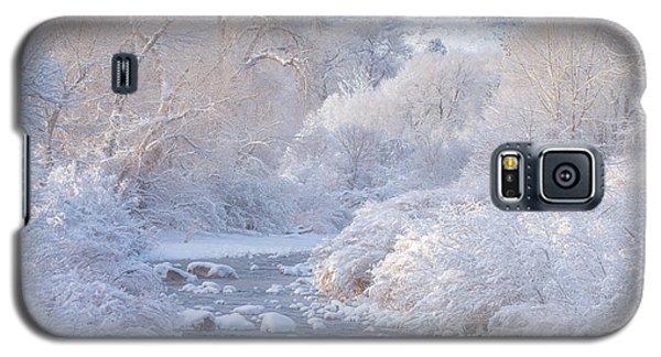 Winter Wonderland - Colorado Galaxy S5 Case
