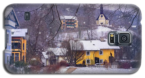 Winter Wonderland In Mondsee Austria  Galaxy S5 Case by Carol Japp
