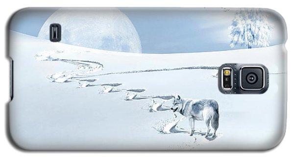 Winter Wonderland - Wolf Galaxy S5 Case