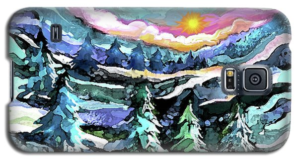 Winter Woods At Dusk Galaxy S5 Case