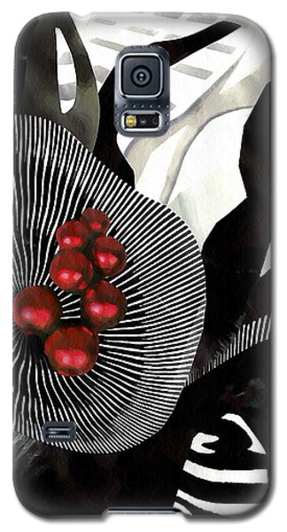 Winterberries Galaxy S5 Case by Sarah Loft