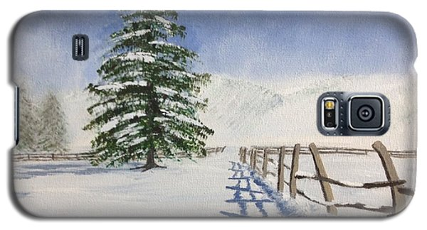 Winter's Beauty Galaxy S5 Case
