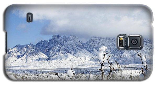 Galaxy S5 Case featuring the photograph Organ Mountains Winter Wonderland by Kurt Van Wagner