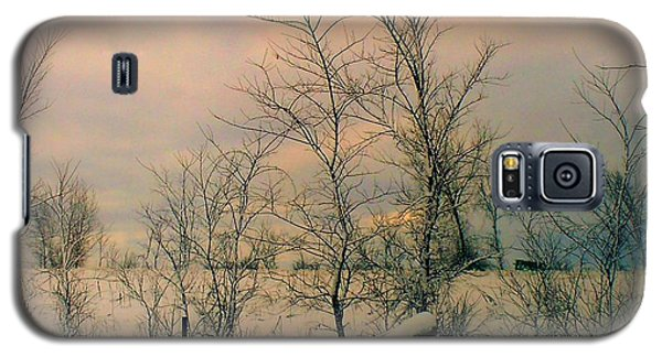 Galaxy S5 Case featuring the photograph Winter's Face by Elfriede Fulda