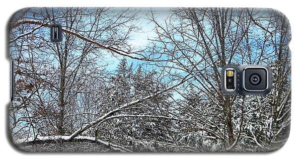 Winter's First Snow Galaxy S5 Case