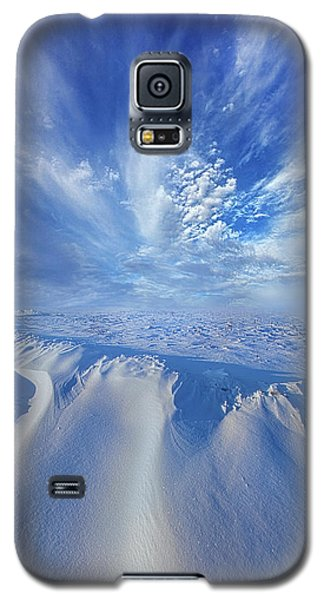 Galaxy S5 Case featuring the photograph Winter's Hue by Phil Koch