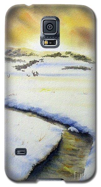 Winter's Light Galaxy S5 Case