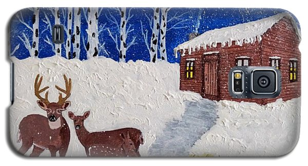 Galaxy S5 Case featuring the photograph Winters Silence by Joseph Frank Baraba
